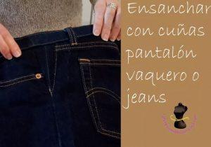 como ensanchar jeans