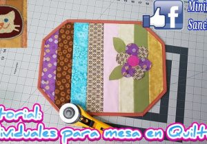 mantel en patchwork