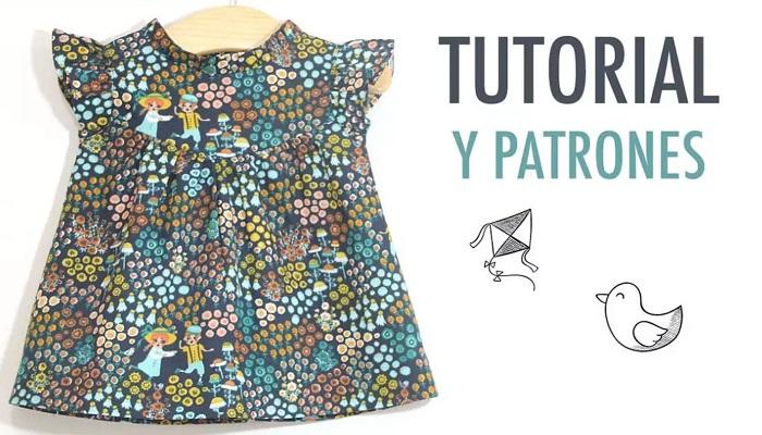 tutorial y patrones vestido