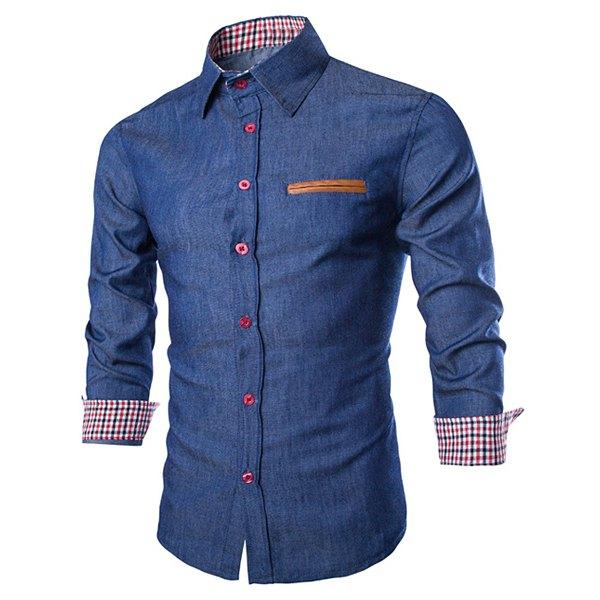 11ec93e6f506 Camisa para Hombre, paso a paso! – Mi Mundo De Moda – Cursos ...