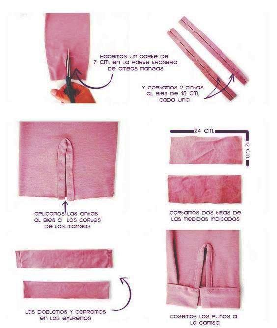 Cómo coser el puño de manga de dama, paso a paso! – Mi Mundo De Moda ...