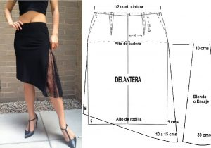 1b9b45369 Falda asimétrica – Mi Mundo De Moda – Cursos Patrones Costura