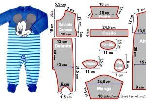 90fe89240 Patrones de costura infantil – Mi Mundo De Moda – Cursos Patrones ...