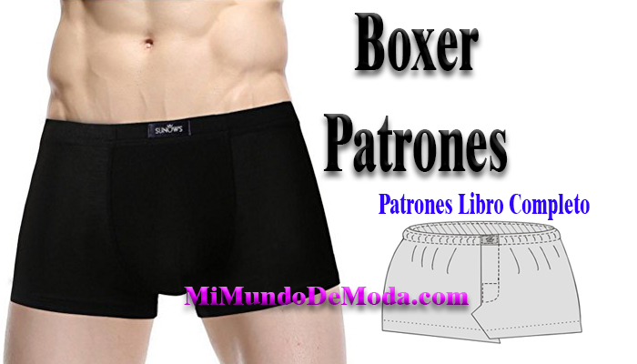 moldes patrones boxer