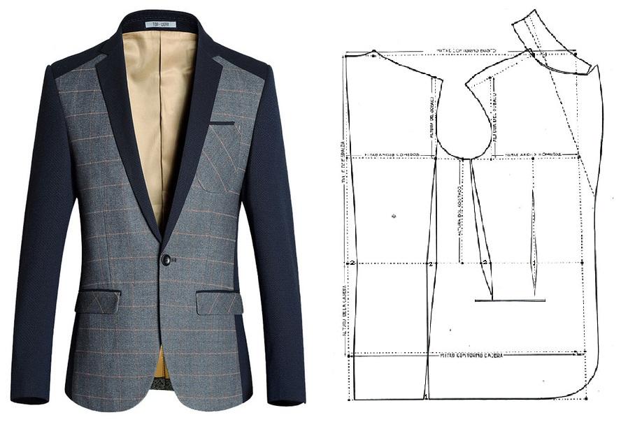 Confeccion abrigo hombre