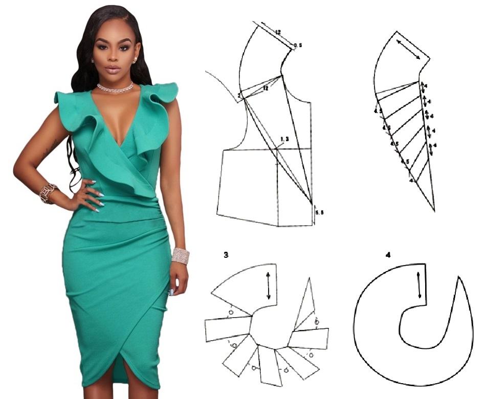 Patrones & Moldes – Página 28 – Mi Mundo De Moda – Costura Corte y ...