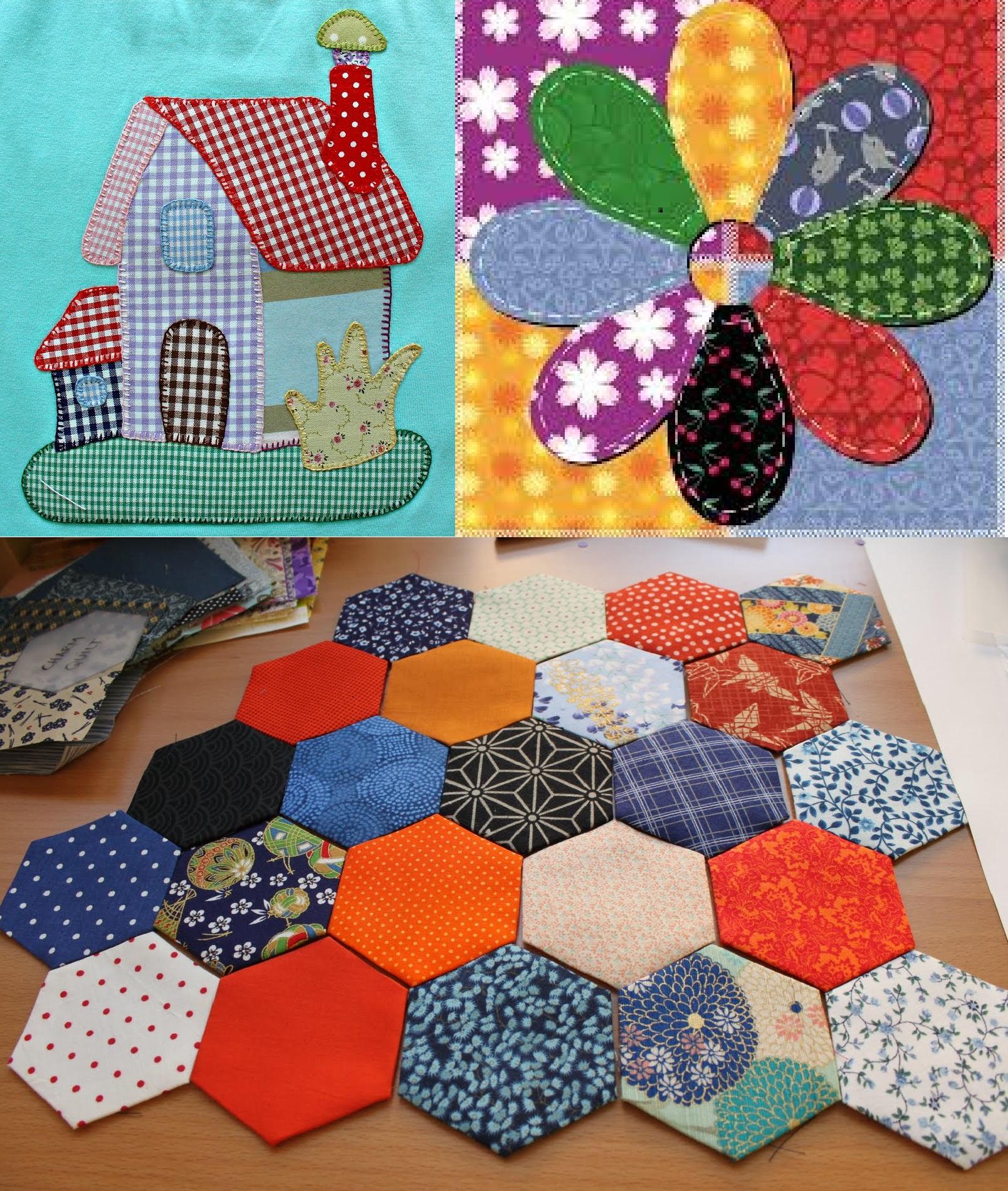 Materiales que necesitas para hacer patchwork patrones de costura - Como hacer pachwork ...