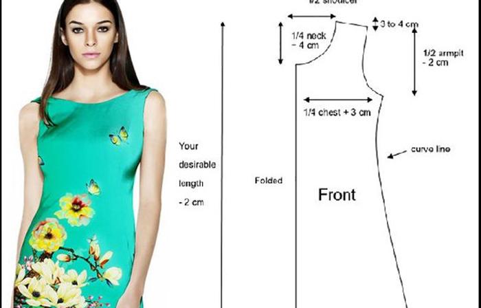 Vestido Fresco Corte A, muy Fácil de Hacer! – Mi Mundo De Moda ...