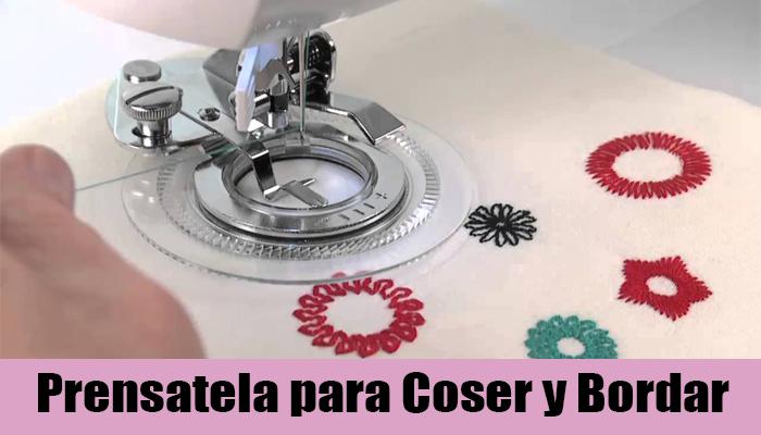 prensatela circular para coser y bordar circulos