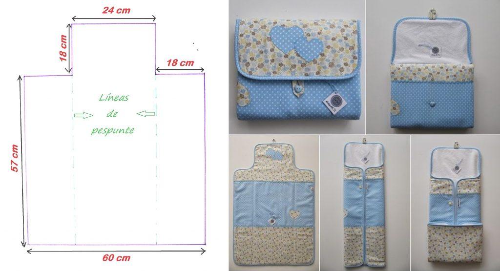 Cambiador port til para beb hazlo en casa patrones de for Mesa cambiador para bebe