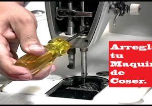 arreglar maquina de coser