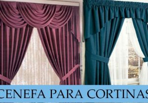 cenefa para cortinas paso a paso