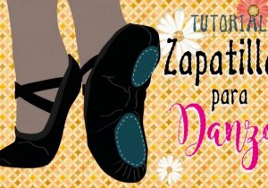 patrones zapatillas de danza