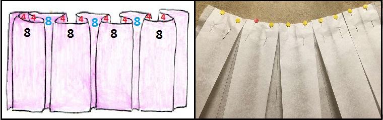 014b5ca3c Cada tabla tiene un ancho de 8 cms y el pliegue interno de cada lado