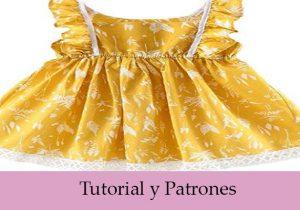 vestido con patrones