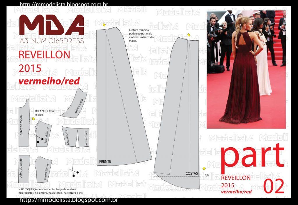 vestido largo patrones 2