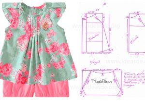 f8f8dcb7f Patrón de vestido de niña – Mi Mundo De Moda – Cursos Patrones Costura