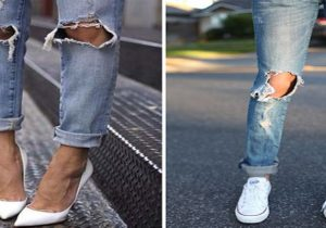 como hacer jeans rasgados video