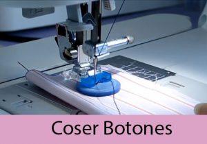 como coser botones