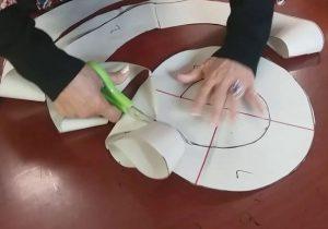 como hacer escarolas ondulaciones