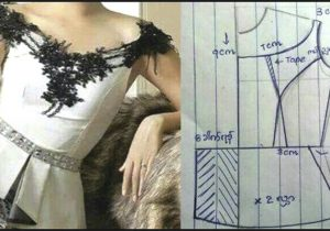 patrones de corset