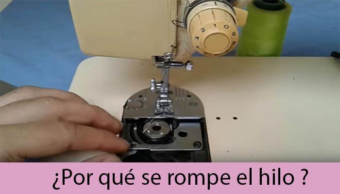 Por que se rompe el hilo en maquina de coser familiar – Mi