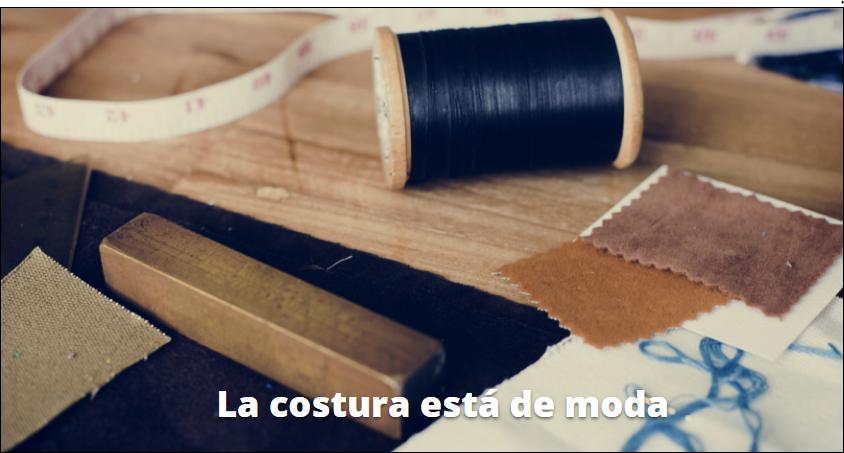 costura de moda