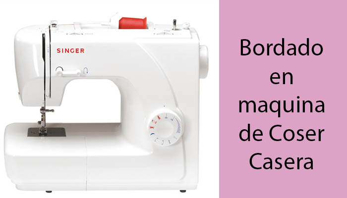 bordar en maquina coser casera