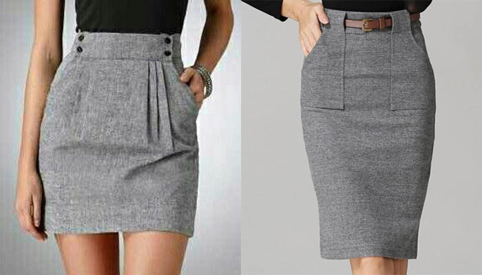 d9a0fcedf Como realizar una falda con bolsillos – Mi Mundo De Moda – Cursos ...