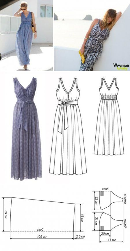 patron vestido estilo griego