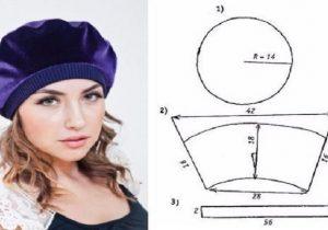 gorro boina sombrero mujeres