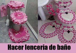 lenceria de baño