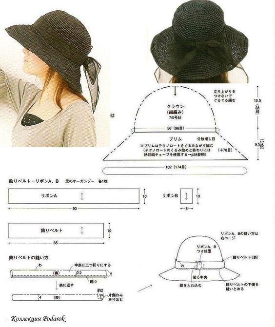 sombrero o capelina de mujer