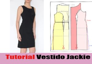 video coser vestido jackie