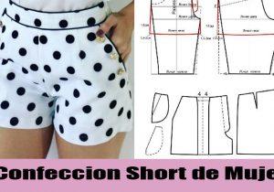confeccion short de mujer