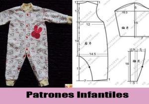 moldes patrones infantiles