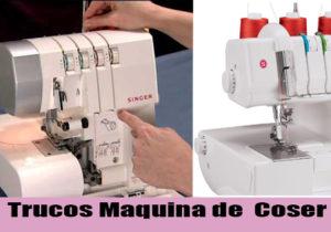 trucos maquina de coser