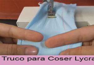 trucos para coser lycra