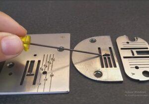 arreglar maquina de coser placa
