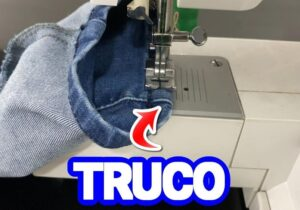 truco telas gruesas maquinas de coser