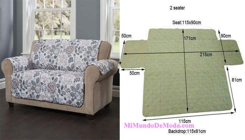 forros de sofa moldes patrones