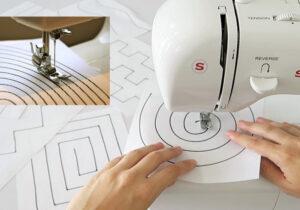 maquina de coser ejercicios