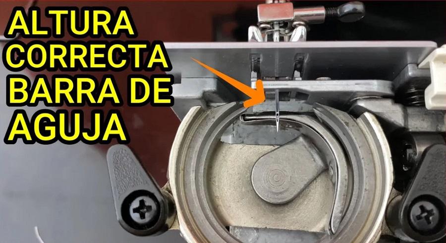 maquina altura de aguja coser